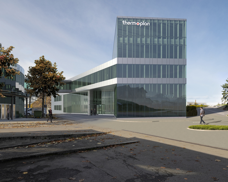 New Thermoplan building in Weggis