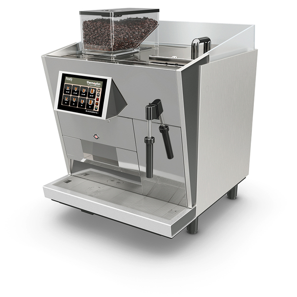 Black&white3: high-performing fully automatic coffee machine.