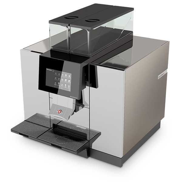 black white3 high performing fully automatic coffee machine thermoplan ag. Black Bedroom Furniture Sets. Home Design Ideas